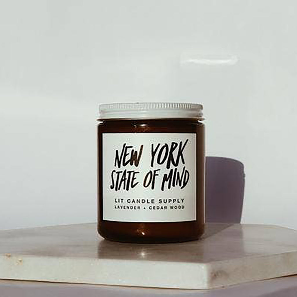 Lit Candle Supply | New York State of Mind Scented Soy Wax Candle