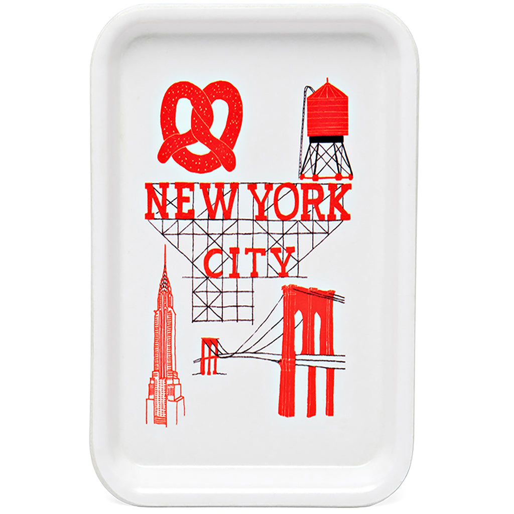 New York Trinket Tray by Claudia Pearson