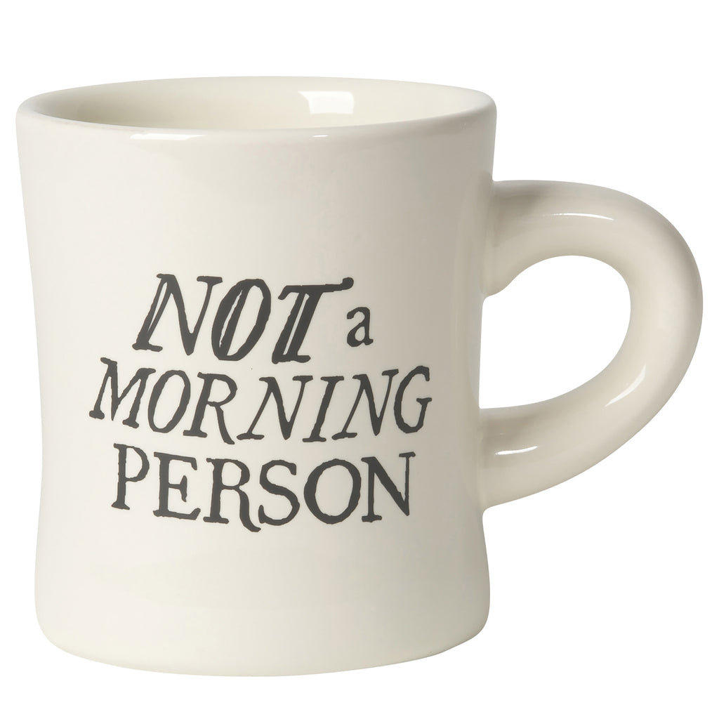 danica not a morning person ceramic coffee mug