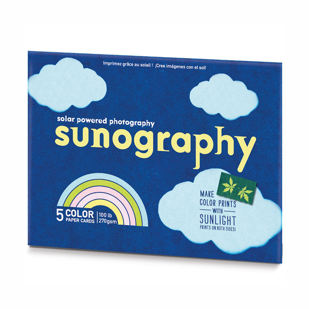 noted sunography solar powered photography color paper cards packaging