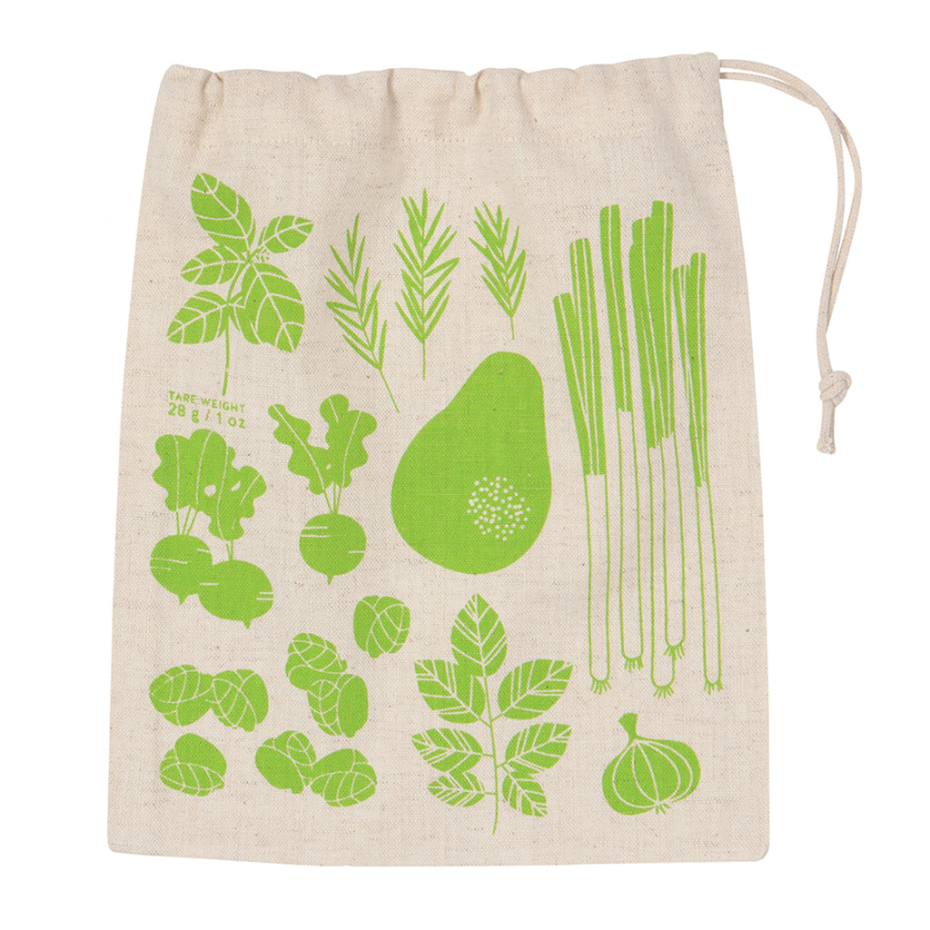 cotton reusable produce bag small
