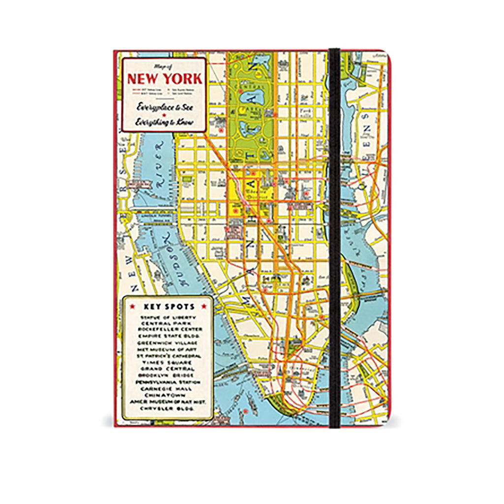 nyc map notebook