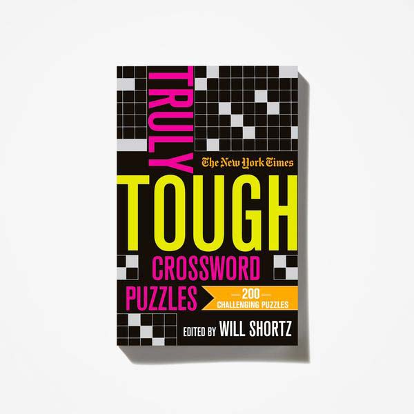 The New York Times Truly Tough Crosswords Puzzle Book