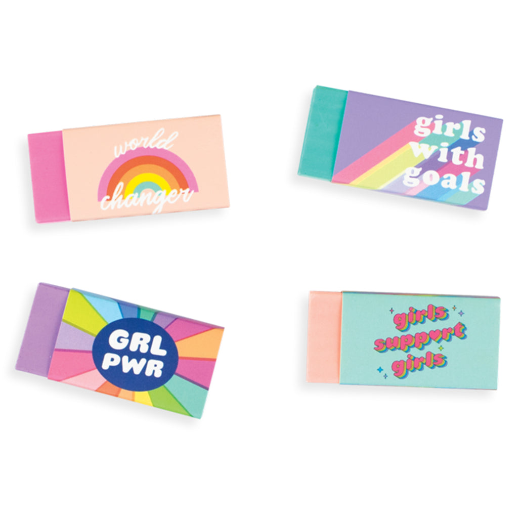 girl power journal writing set