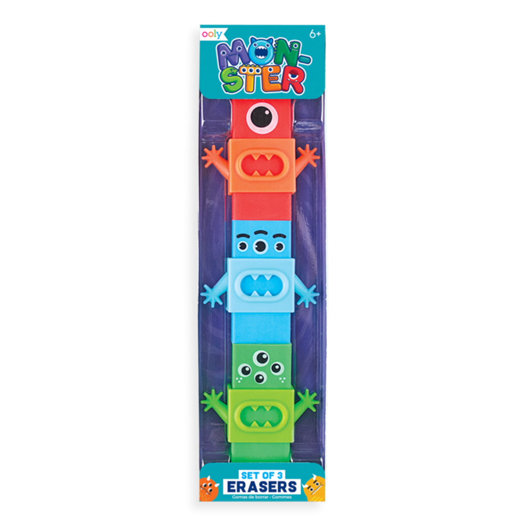 monster pals happy pack erasers
