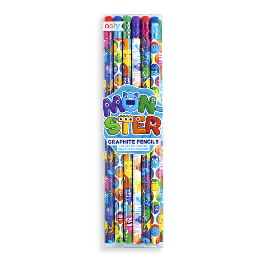 monster pals happy pack pencils