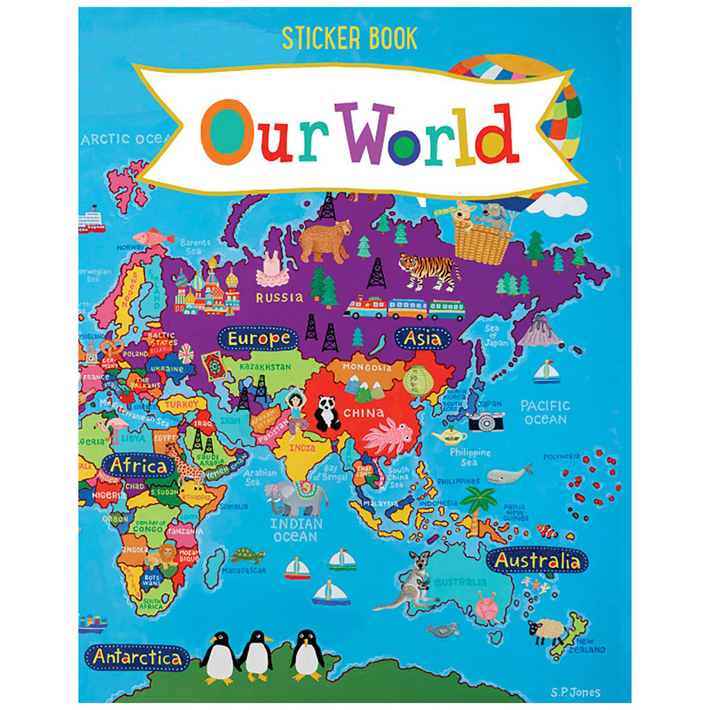 Our World Sticker Book