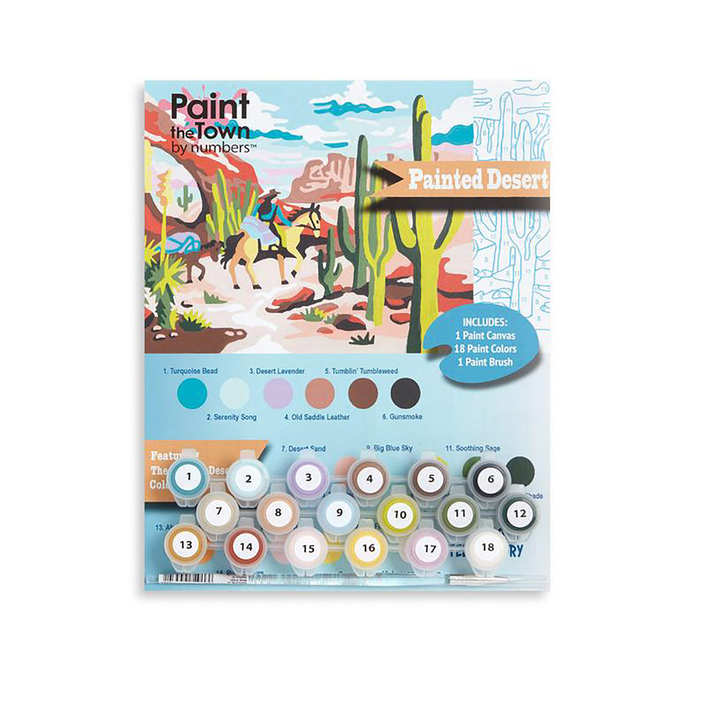 Painted Desert Paint by Number Kit