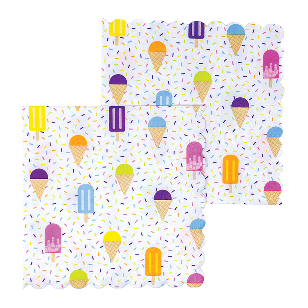 summer treat napkins