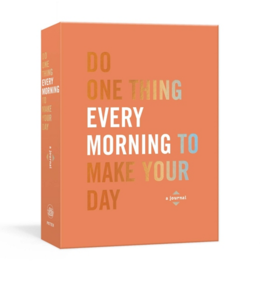 penguin random house do one thing every morning to make your day journal cover