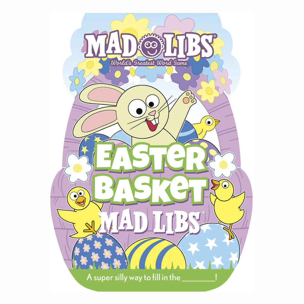 penguin easter basket mad libs cover