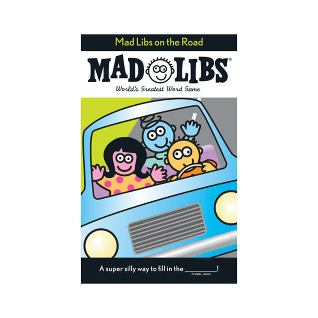 penguin mad libs on the road book