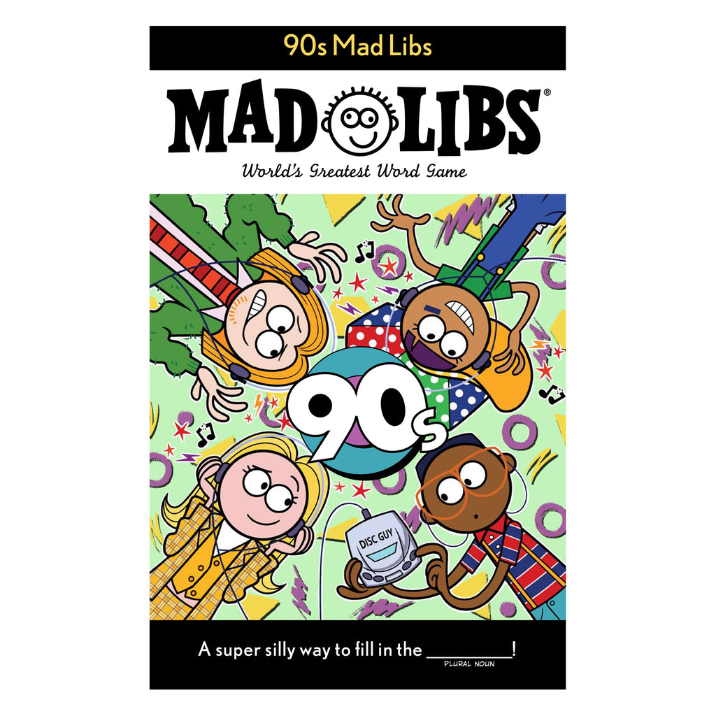 penguin random house 90s mad libs word game book cover