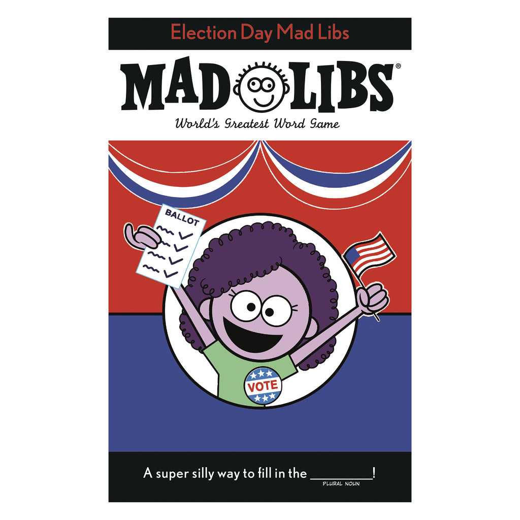 penguin random house election day mad libs worlds greatest word game cover