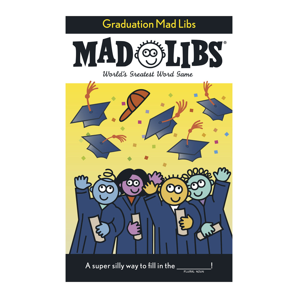 penguin random house graduation mad libs word game graduate gift book cover