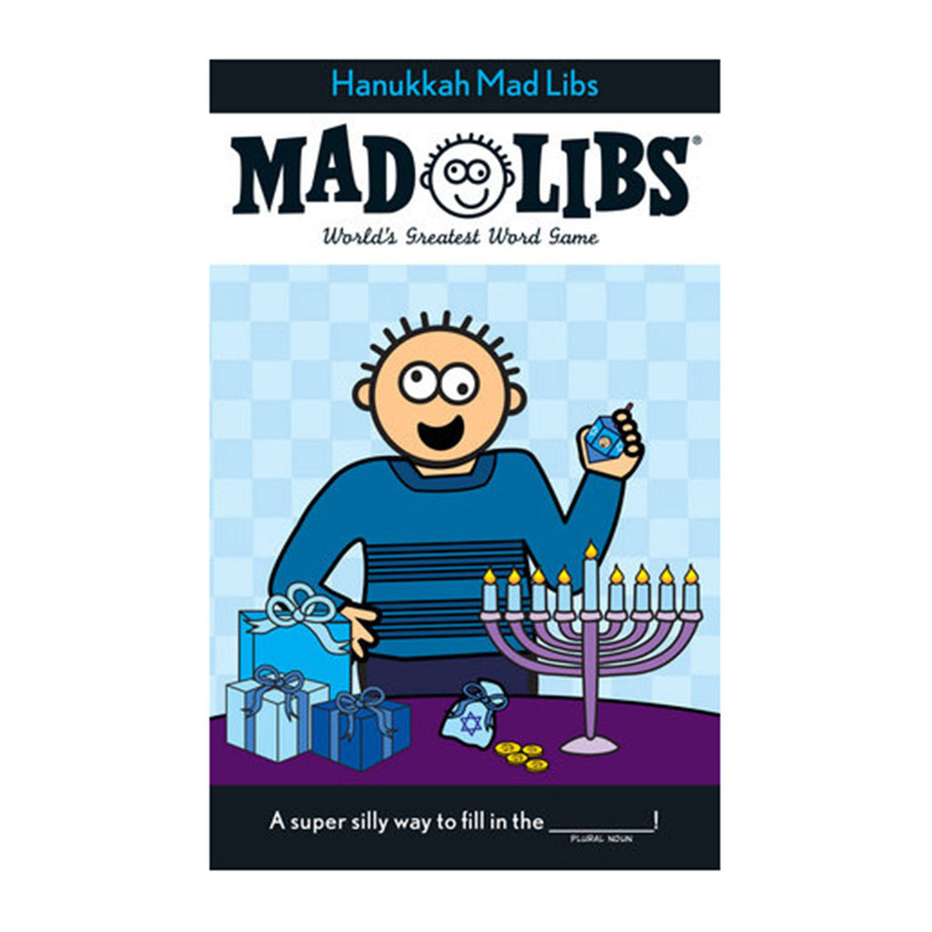 Hanukkah Mad Libs Activity Book