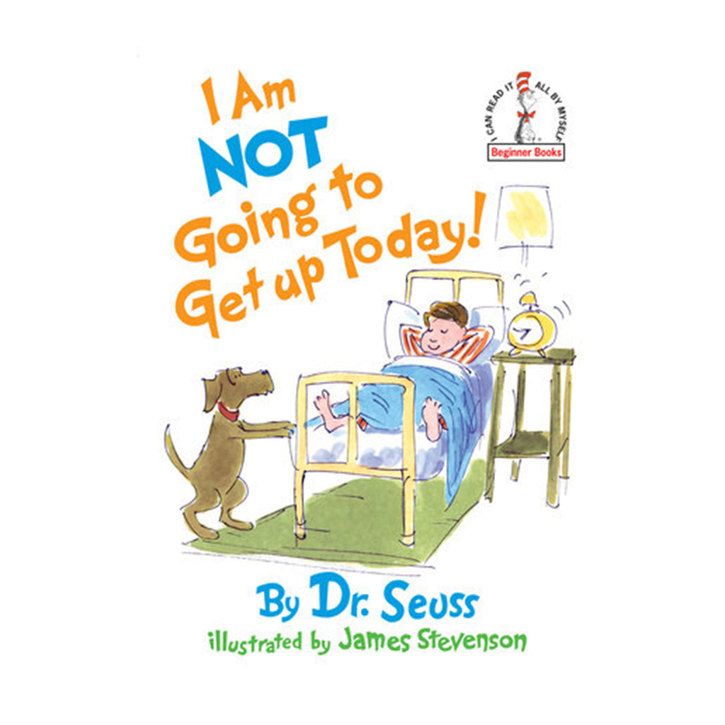 penguin random house i am not going to get up today book hardcover