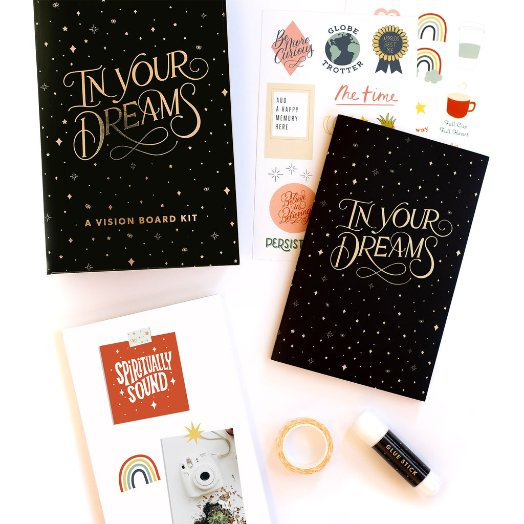 penguin random house in your dreams a vision board kit cover and contents