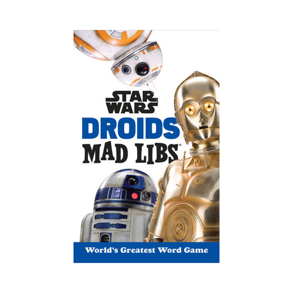 penguin random house star wars droids mad libs word game book cover