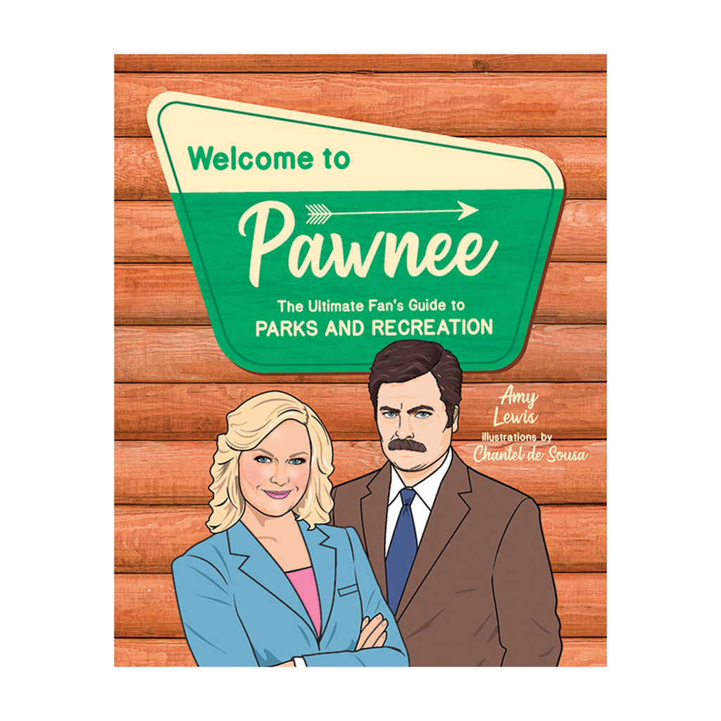 penguin random house welcome to pawnee the ultimate fan's guide to parks and recreation book cover