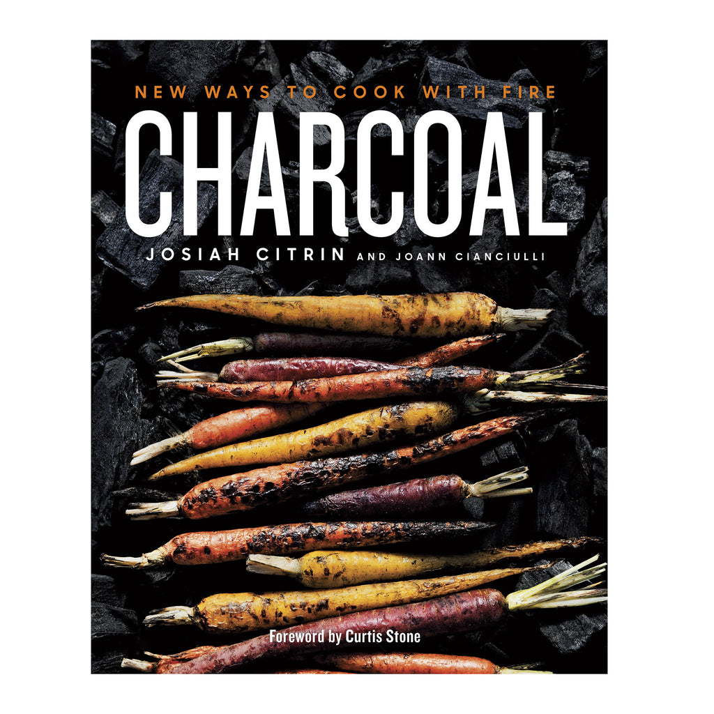 penguin random house charcoal: new ways to cook with fire grilling recipe cookbook cover