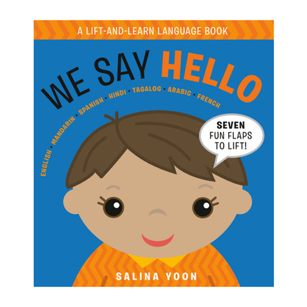 penguin we say hello book board