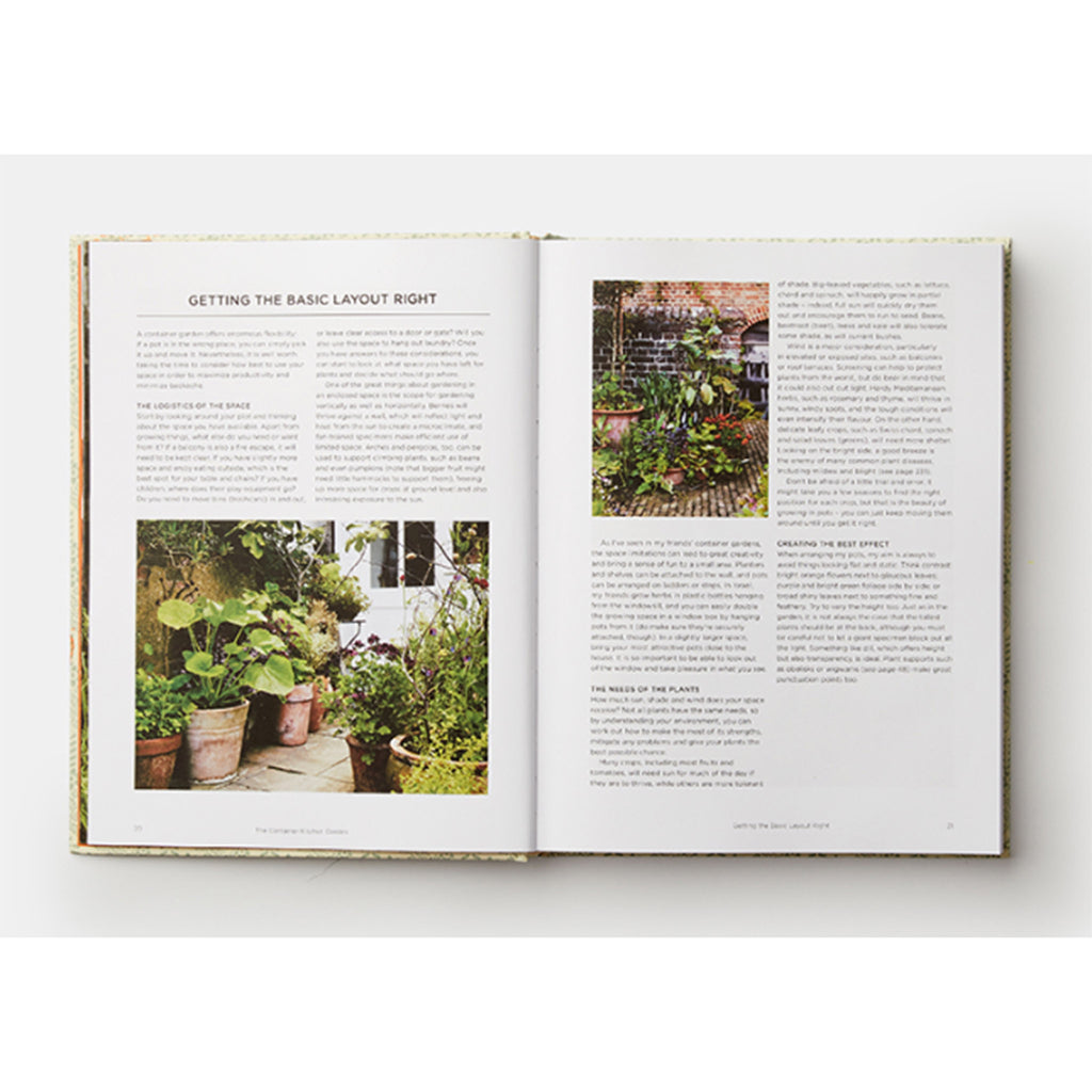 phaidon grow fruit and vegetables in pots planting advice and recipes from great dixter garden layout sample page