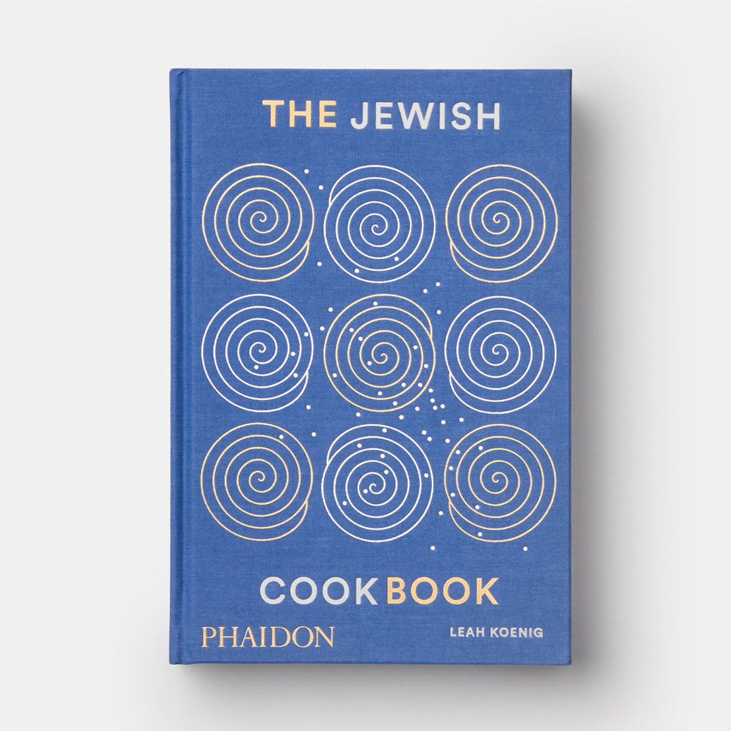 phaidon the jewish cookbook blue silver gold cover