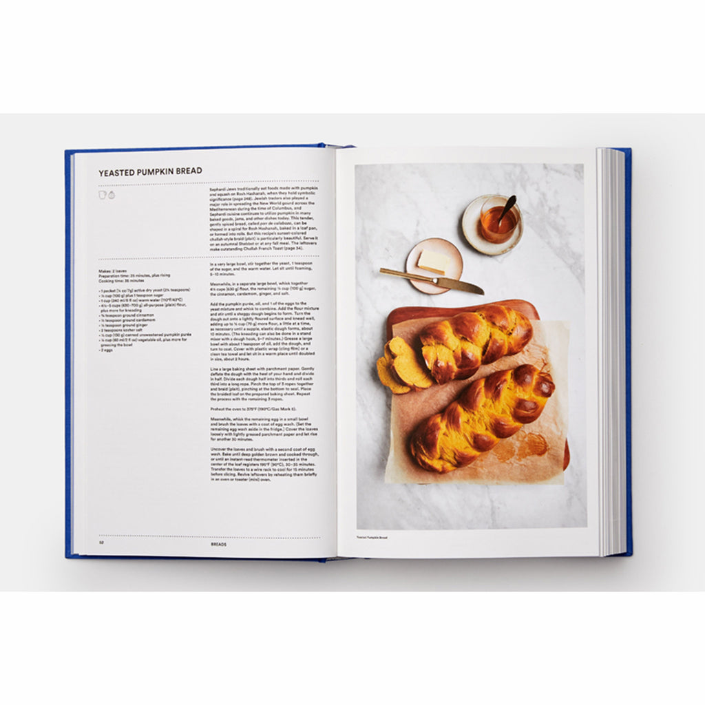 phaidon the jewish cookbook yeasted pumpkin bread recipe