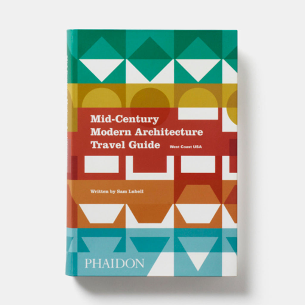 phaidon mid-century modern architecture travel guide west coast usa cover