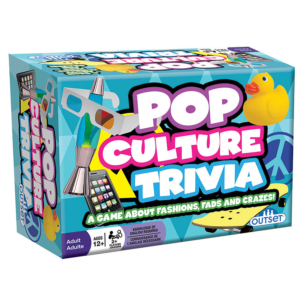 pop culture trivia game box