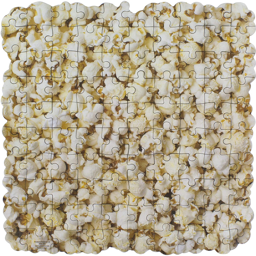 paladone 100 piece popcorn scented jigsaw puzzle completed detail