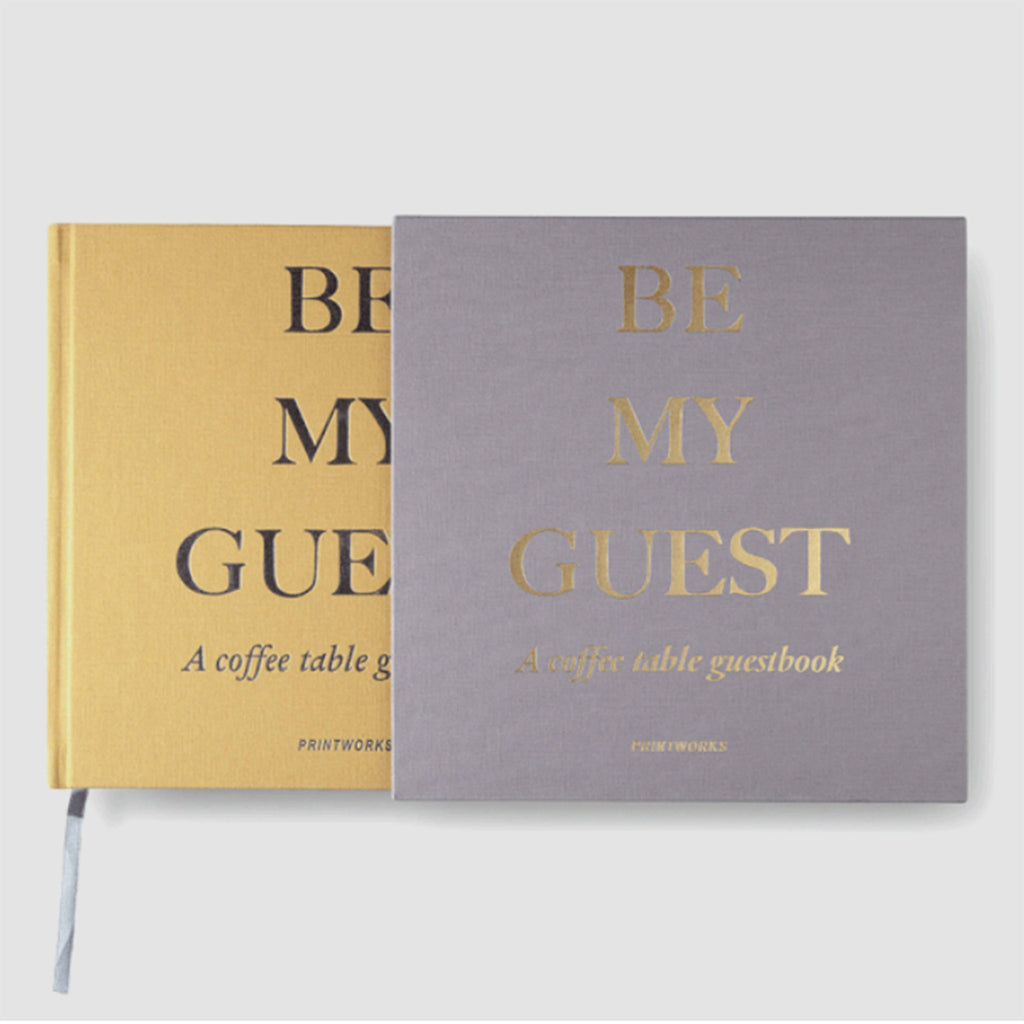 Be My Guest | A Coffee Table Guestbook (2 Colors)