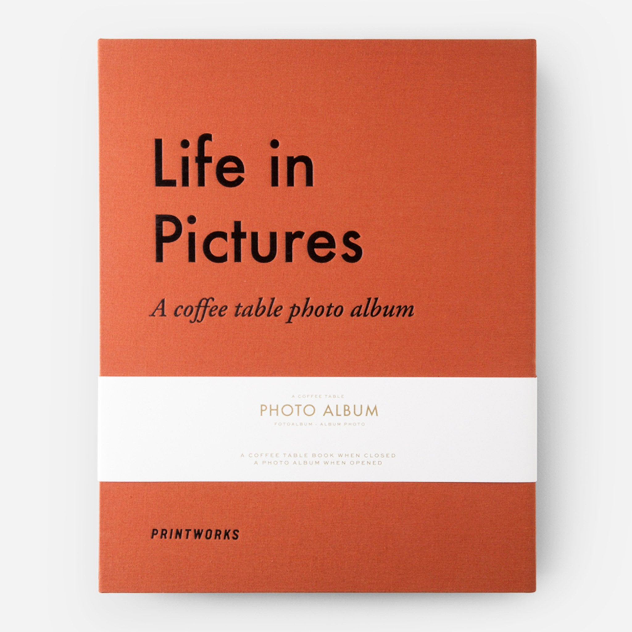 Life In Pictures A Coffee Table Photo Album Annie S Blue