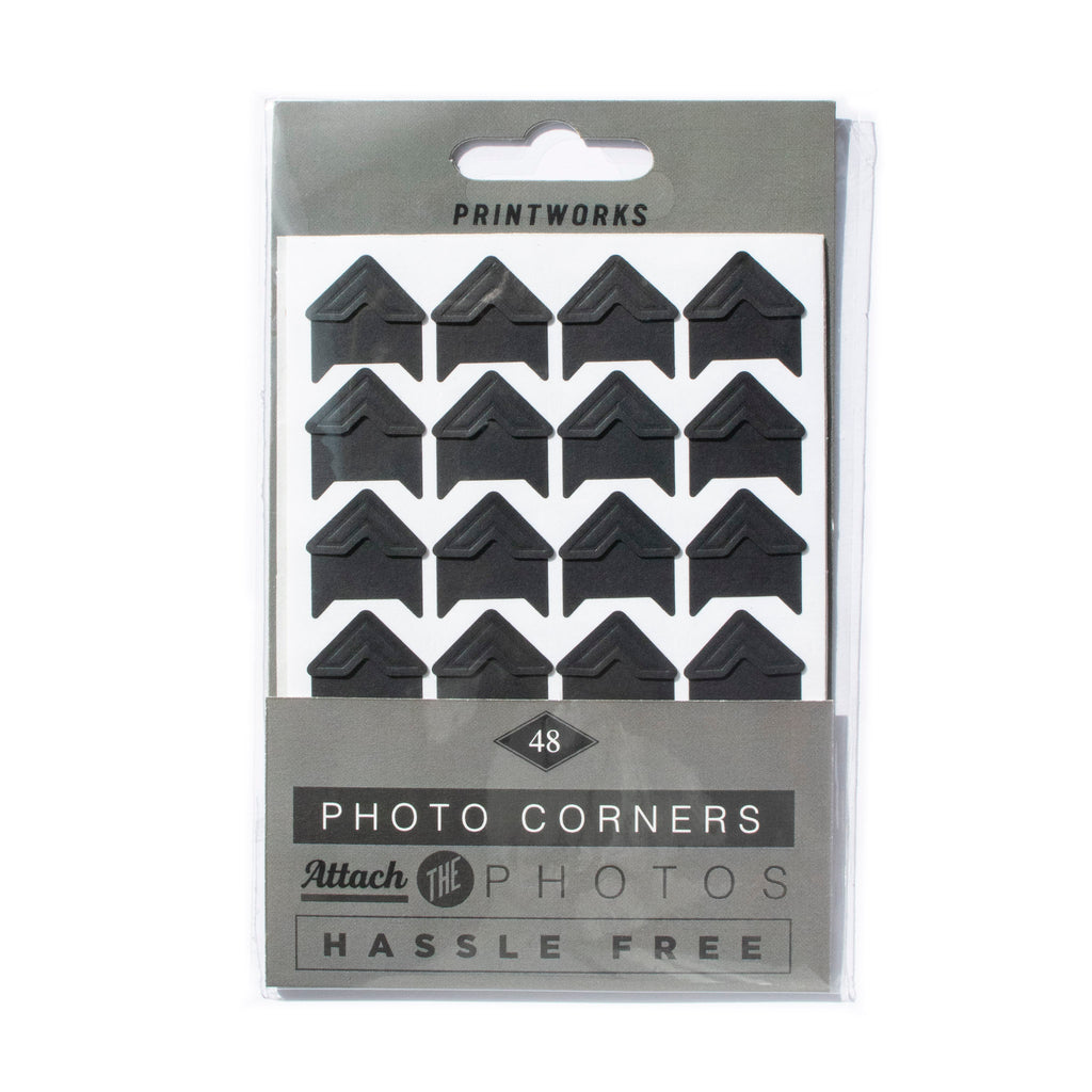 printworks pack of 48 professional acid free photo mounting corners