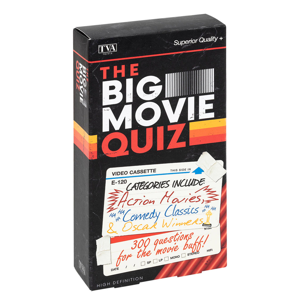 professor puzzle big movie quiz game in vcr box packaging
