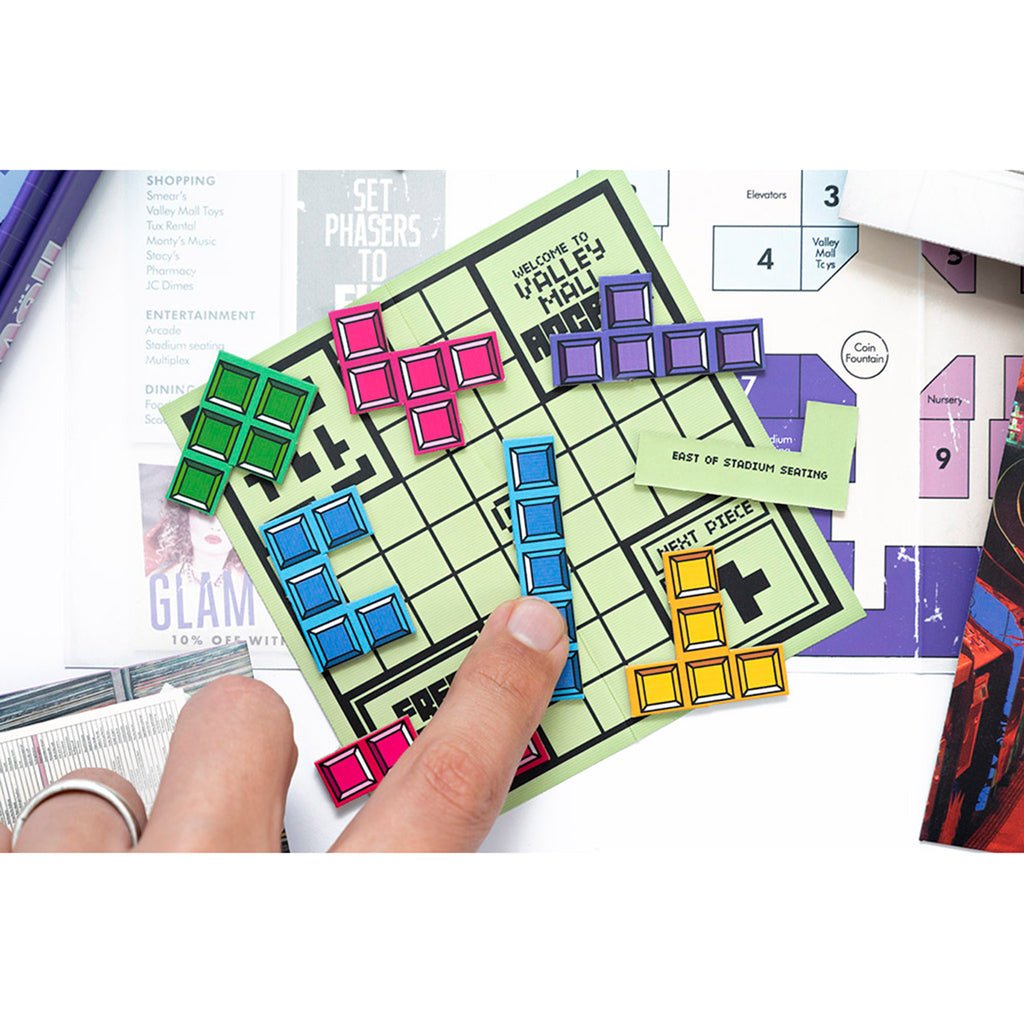 professor puzzle escape from the mall family friendly game play card