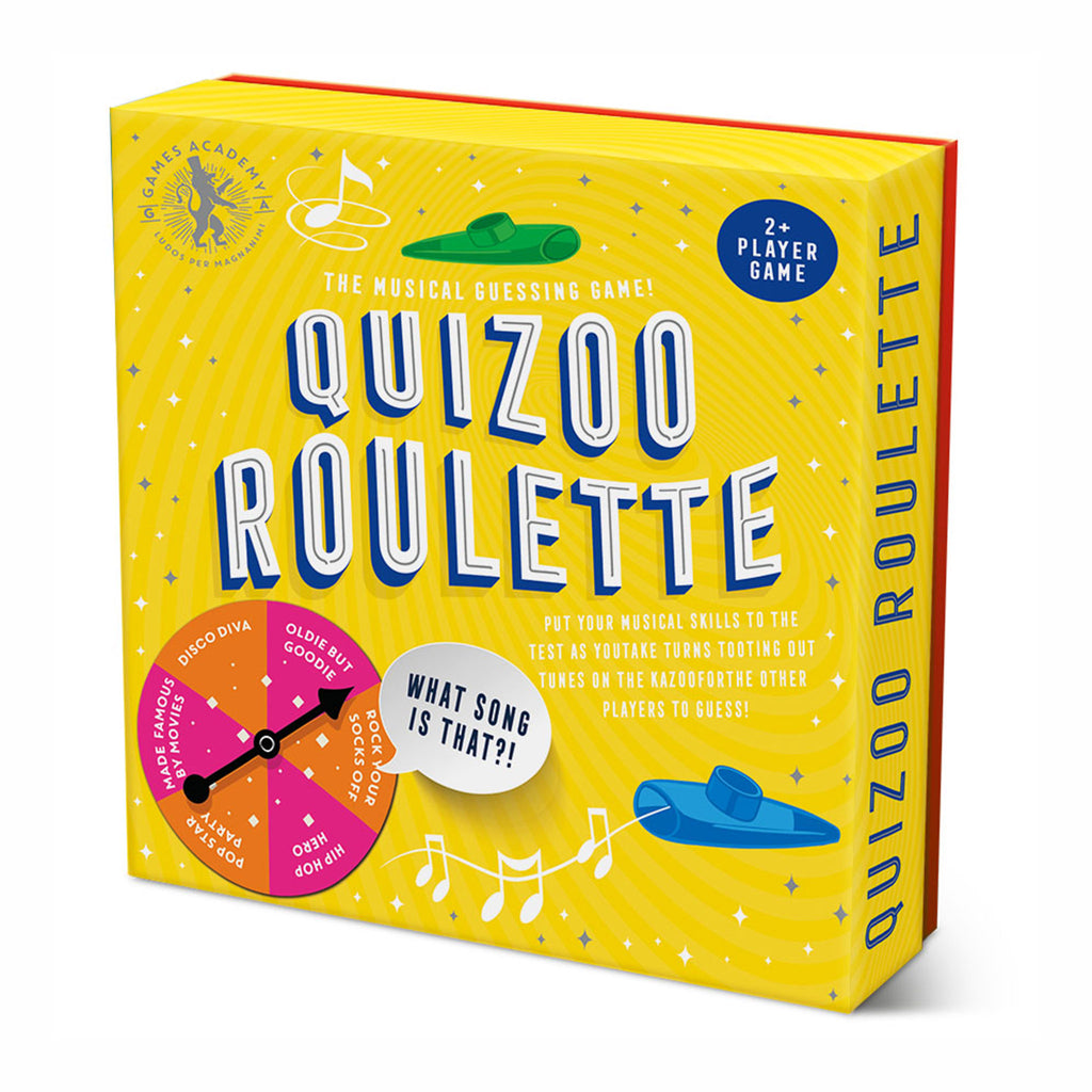 professor puzzle quizoo roulette musical guessing game box front