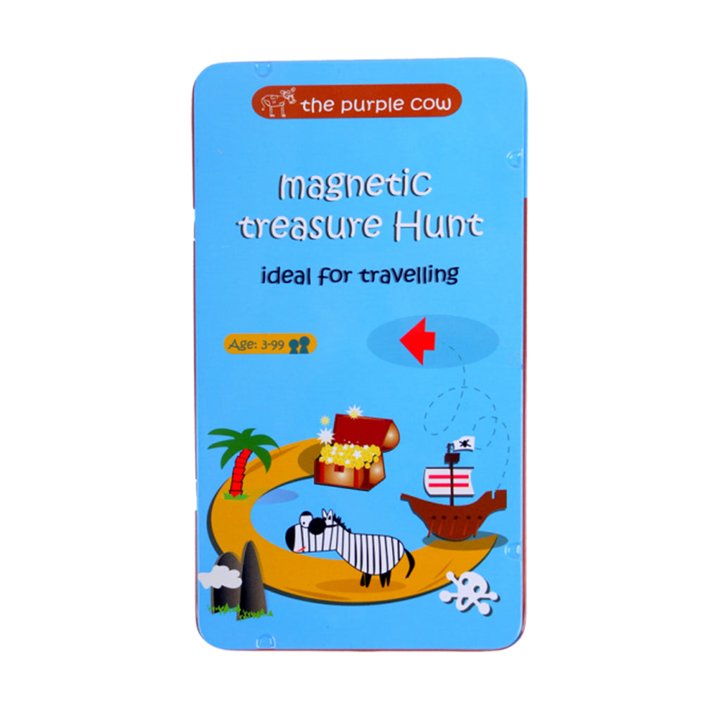 treasure hunt magnetic travel game