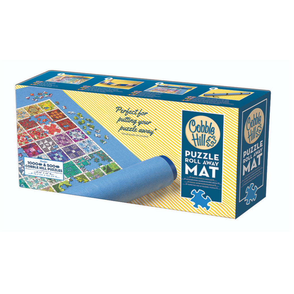 cobble hill puzzle roll away mat box