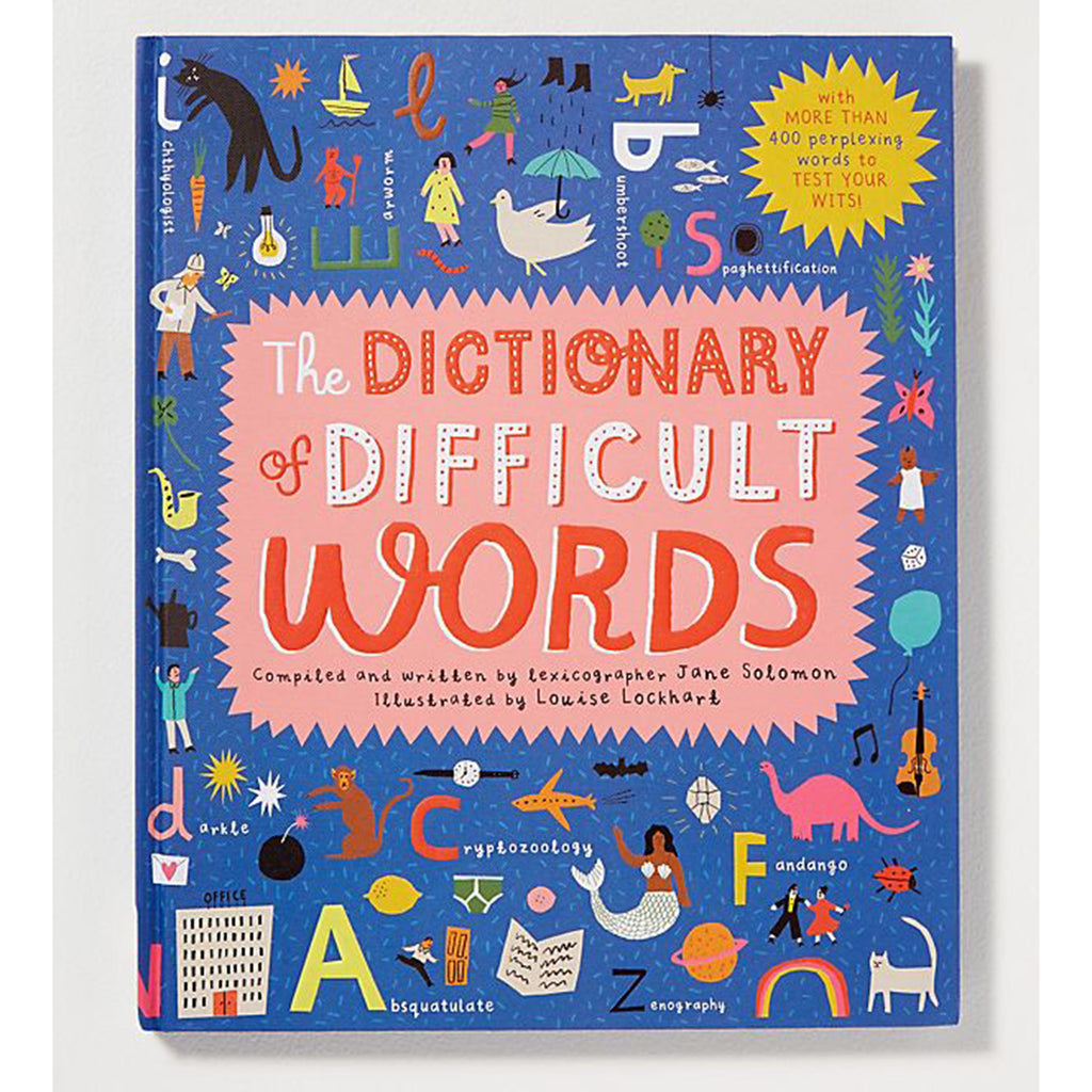 dictionary of difficult words cover