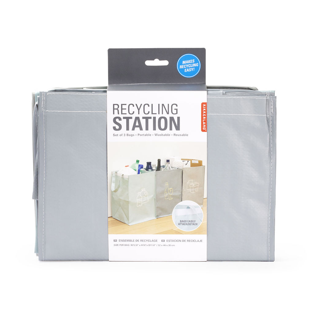 Recycling Station Bag Set package