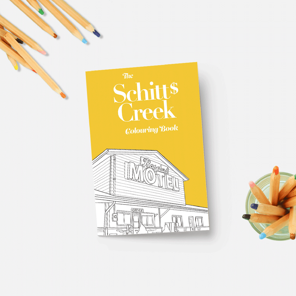 the schitts creek coloring book