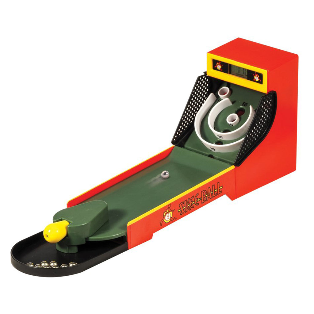 mini electronic skee ball game
