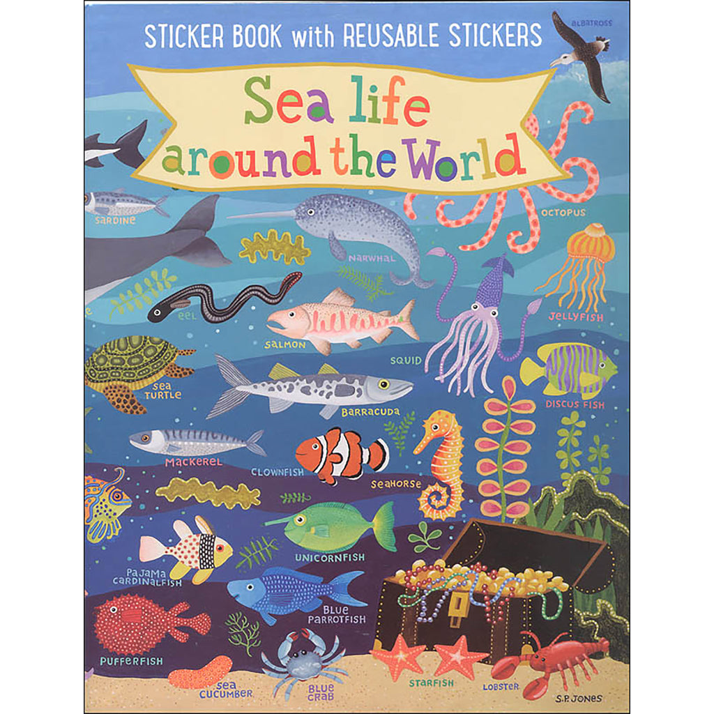 Sealife Kids Sticker Book