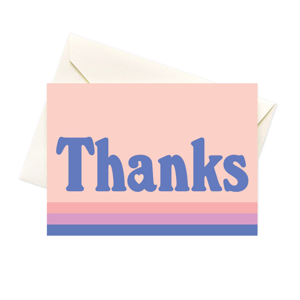 seltzer goods pastel stripes boxed thank you notes greeting cards set