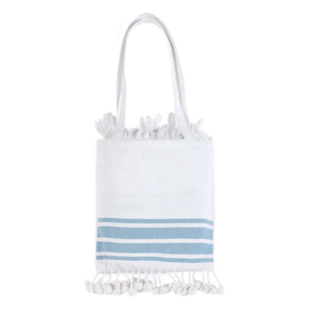 shiraleah escape beach towel and fringed bag set towel in bag