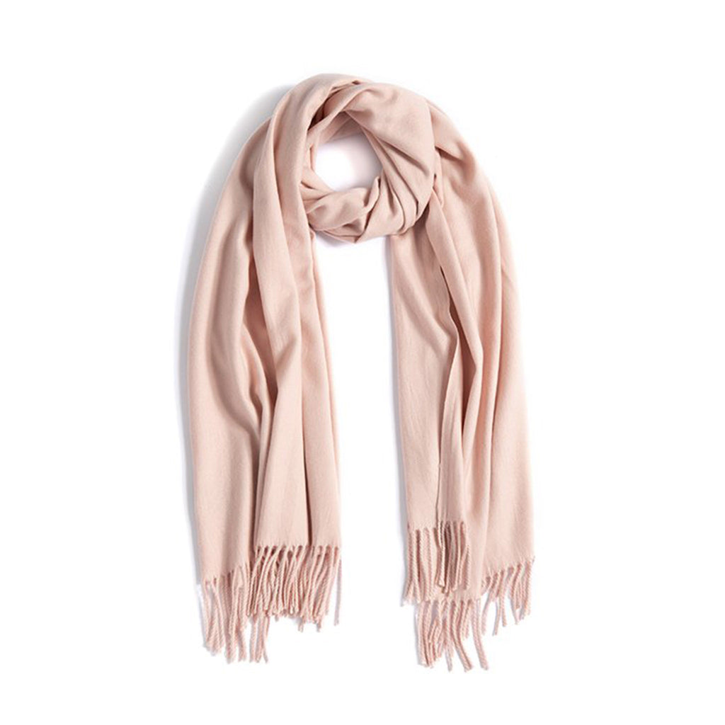 Manuela Classic Scarf With Fringe (3 Colors)