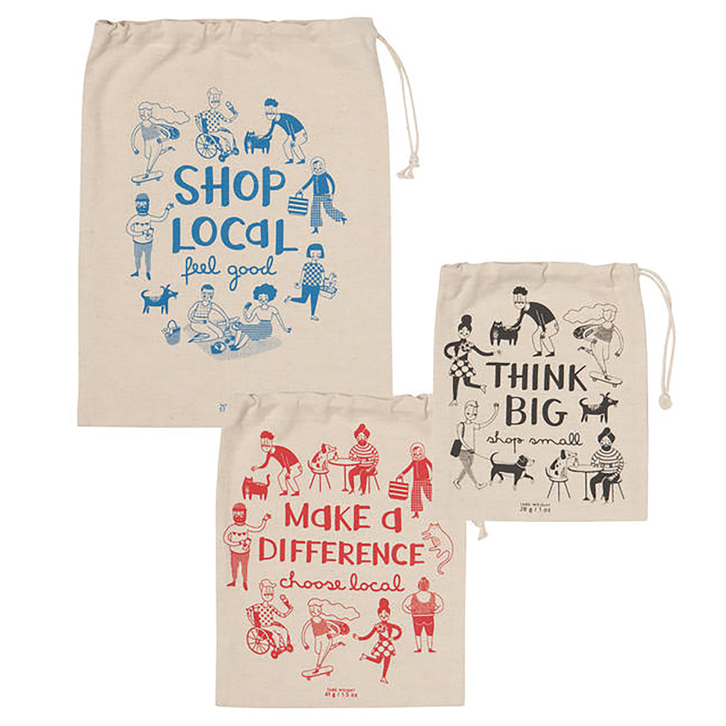 Shop Local Produce Bag Set