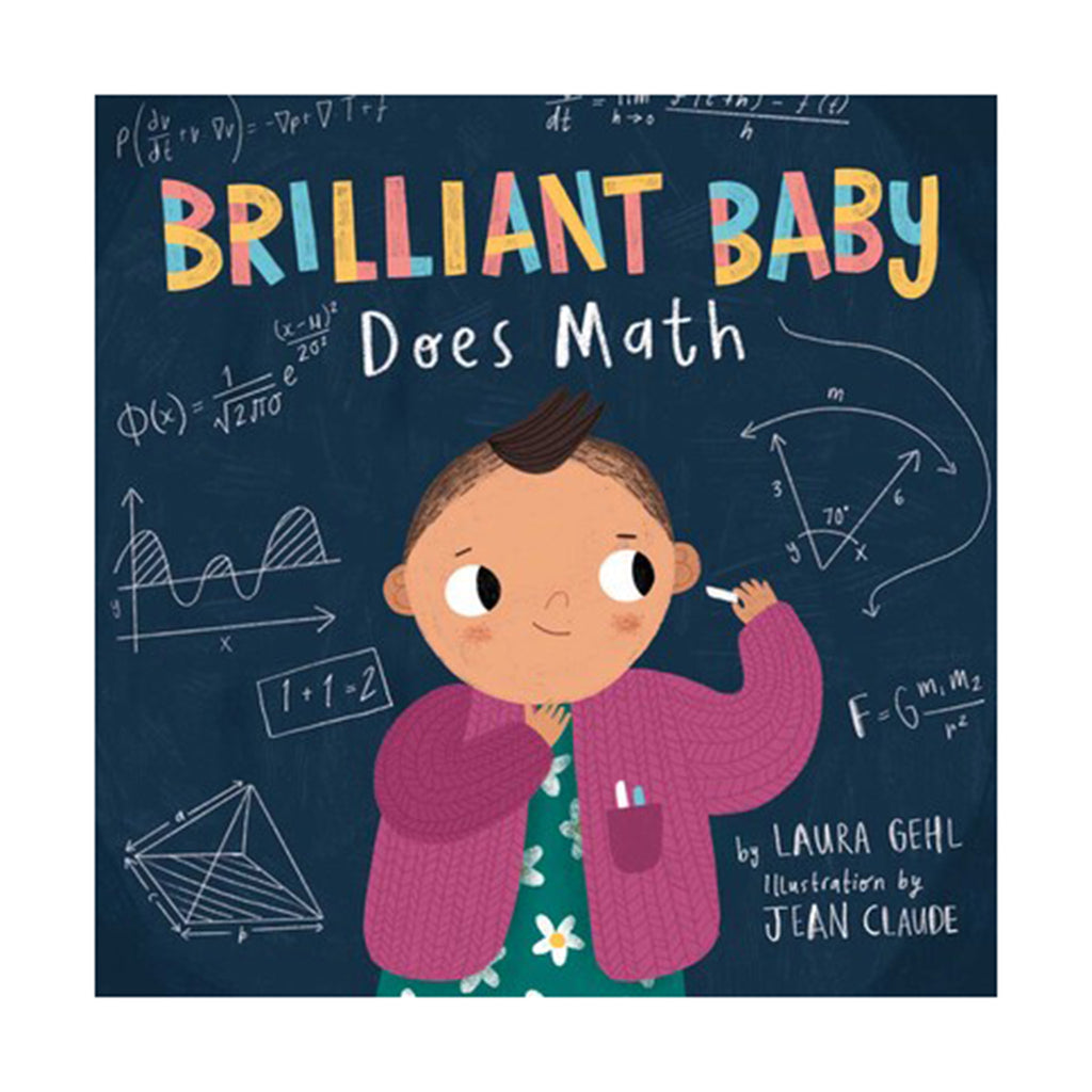 simon schuster brilliant baby does math hardcover book